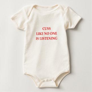 CUSS BABY BODYSUIT