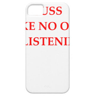 CUSS CASE FOR THE iPhone 5