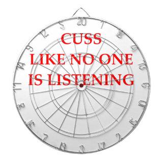 CUSS DARTBOARD