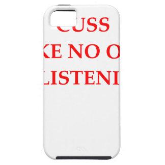 CUSS iPhone 5 COVER