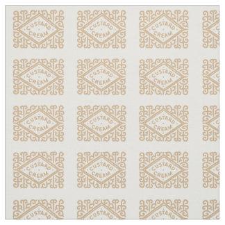 Custard cream biscuit fabric
