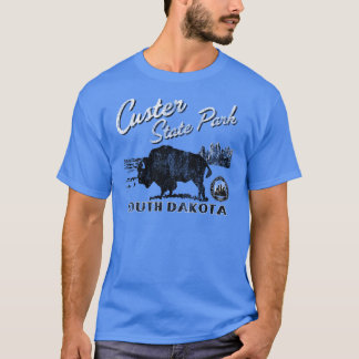 Custer State Park Buffalo Tee Shirt