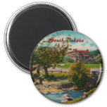 Custer State Park Game Lodge Magnet