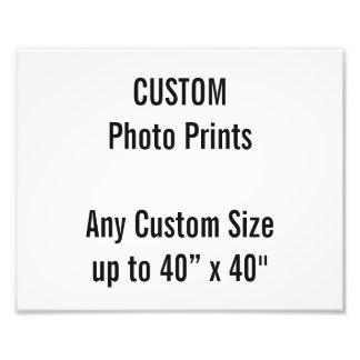 "Custom 10"" × 8"" Photo Print (US Frame Size)"