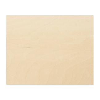 Custom 10x8 Wood Canvas