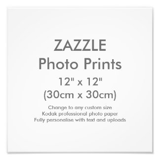 "Custom 12"" x 12"" Square Photo Print Template"
