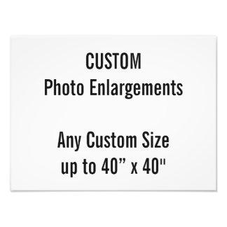 "Custom 16""x12"" Photo Enlargement up to 40""x40"""