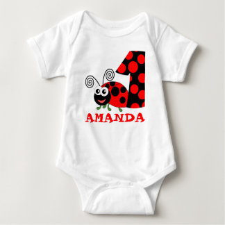 CUSTOM 1 YEAR OLD 12 MONTH OLD BABY BODYSUIT