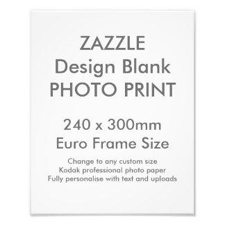 Custom 240 x 300 mm Photo Print UK Frame Size