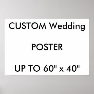 "Custom 24"" x 16"" Poster MATTE Landscape"