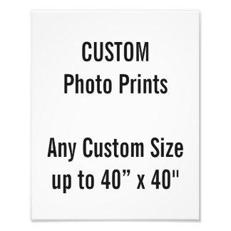 Custom 24 x 30 cm Photo Print UK Frame Size