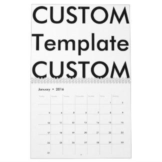 Custom 2-Page Calendar, EXCEPTIONAL CUSTOMIZATION! Calendars
