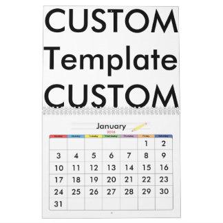 Custom 2-Page Calendar, EXCEPTIONAL CUSTOMIZATION! Wall Calendars