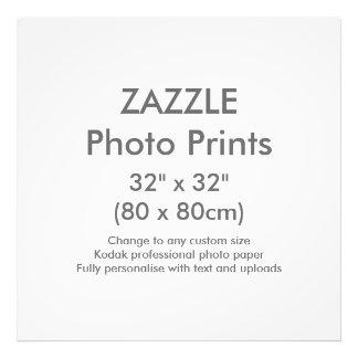 "Custom 32"" x 32"" Square Photo Print Template"