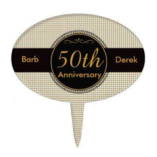 Custom 50th Wedding Anniversary Cake Topper Cake Topper