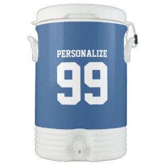 Custom 5 gallon sports drink cooler with spigot igloo beverage dispenser