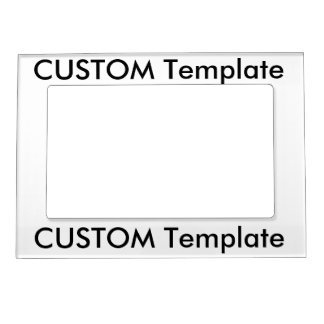 "Custom 5"" x 7"" Magnetic Photo Picture Frame Picture Frame Magnets"