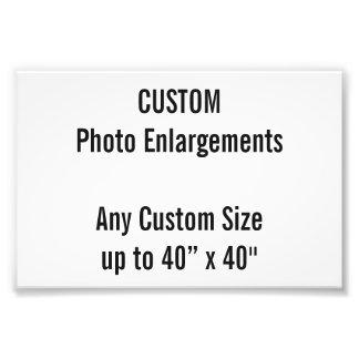 "Custom 6""x4"" Photo Enlargement up to 40""x40"""