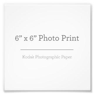 Custom 6 x 6 Photo Print