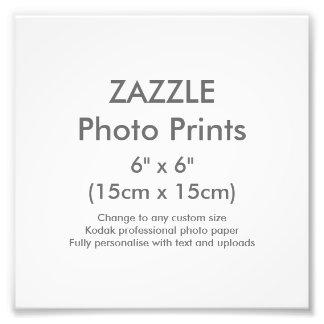 "Custom 6"" x 6"" Square Photo Print Template"