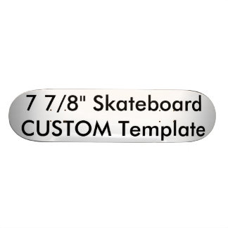 "Custom 7 7/8"" Competition Skateboard Deck"