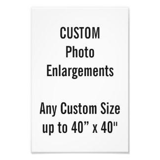 "Custom 8""x12"" Photo Enlargement up to 40""x40"""