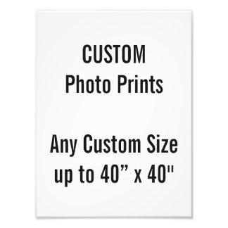 "Custom 9"" × 12"" Photo Print US Frame Size"