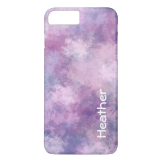 Custom Abstract Blue, Lilac, Pink iPhone 8 Plus/7 Plus Case