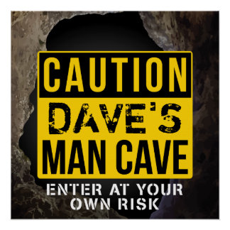 Custom 'Add your name' Man Cave Door Sign