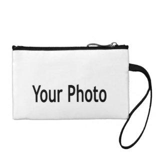 Custom  add your photo clutch change purses
