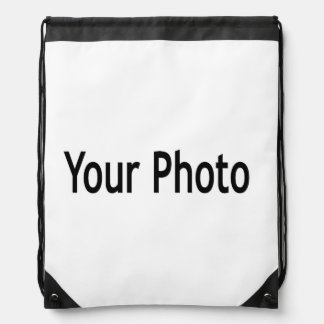 Custom  add your photo string backpack