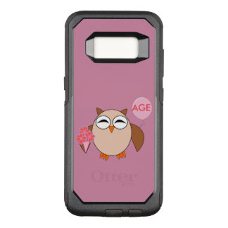 Custom Age Birthday Owl Phone Case