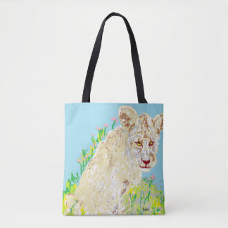 Custom All-Over-Print Tote Bag African Lion