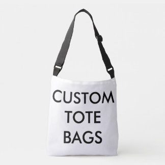 Custom ALL OVER PRINT TOTE BAG Blank Template