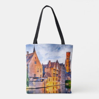 Custom All-Over-Print Tote Bag Bruges
