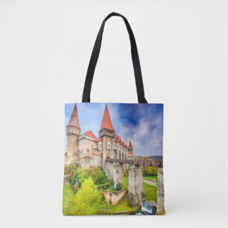 Custom All-Over-Print Tote Bag Corvin castle