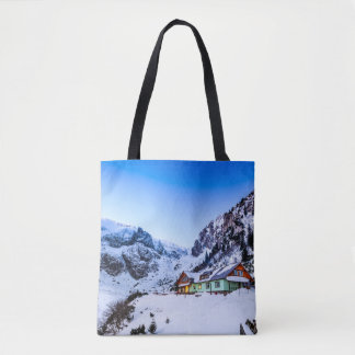 Custom All-Over-Print Tote Bag Malaiesti, Bucegi