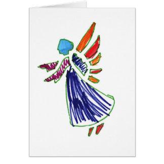 Custom Angel Card