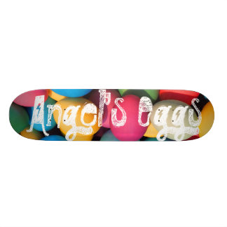 Custom Angel's Eggs skateboard