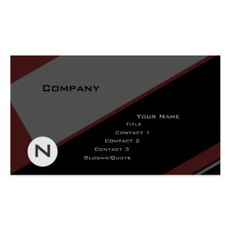 Custom Angle 2 Pack Of Standard Business Cards