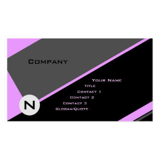 Custom Angle 4 Pack Of Standard Business Cards