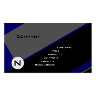 Custom Angle 5 Pack Of Standard Business Cards