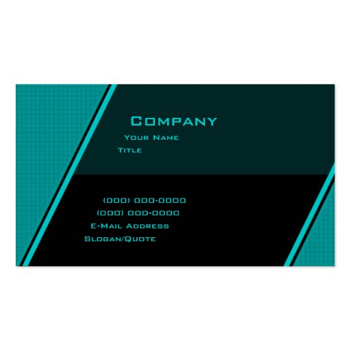 Custom Angle Business Cards