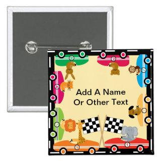 Custom Animal Racers Button