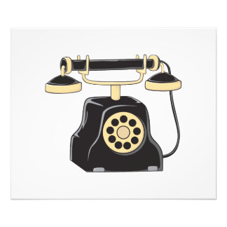 Custom Antique Rotary Dial Telephone Collector Photo