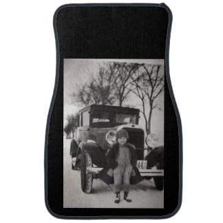 Custom Antique Set of Car Mats Floor Mat