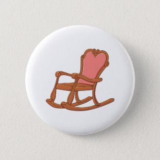 Custom Antique Wooden Rocking Chair Mugs Buttons
