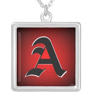 Custom Any Initial Monogram Necklace