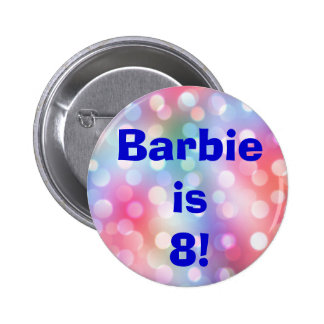 Custom Any Name And Age Fun Birthday Button Pin