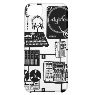 custom Assemble Your Hustle Music Mixology iPhone 5C Case
